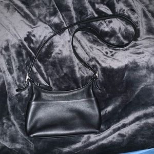 Vintage Coach Legacy Black Crossbody Bag EUC